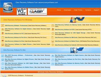 datarecoverysoftware.com screenshot