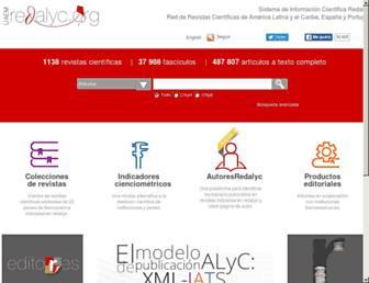 redalyc.org screenshot
