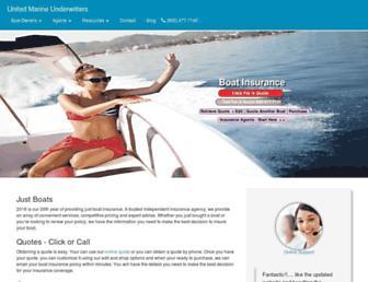 unitedmarine.net screenshot