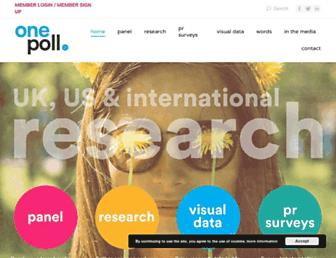 Thumbshot of Onepoll.com