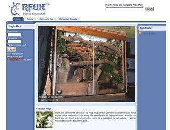 reptileforums.co.uk screenshot