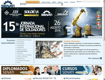senati.edu.pe screenshot