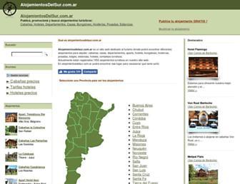 alojamientosdelsur.com.ar screenshot