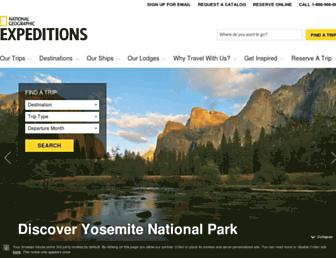 Thumbshot of Nationalgeographicexpeditions.com