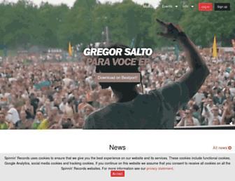 spinninrecords.com screenshot