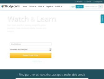 study.com screenshot