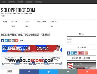 solopredict.com screenshot
