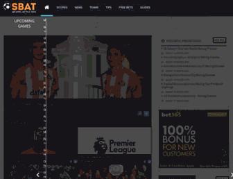 sbat.com screenshot