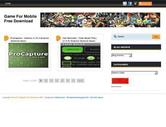 gamemobilexx.blogspot.com screenshot