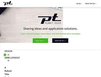 planettelex.com screenshot