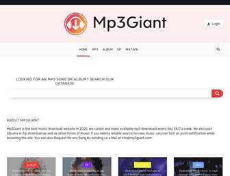 mp3giant.com screenshot