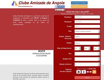 amizadeangola.com screenshot
