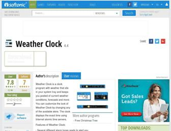 weather-clock.en.softonic.com screenshot