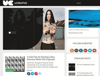 ucreative.com screenshot