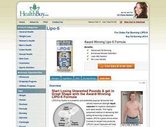 fatburning.herbalyzer.com screenshot