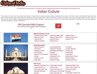 culturalindia.net screenshot