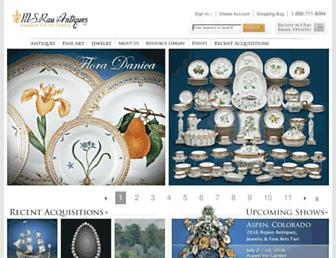 rauantiques.com screenshot