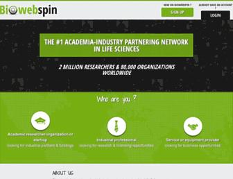 biowebspin.com screenshot
