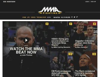 Thumbshot of Mmafighting.com