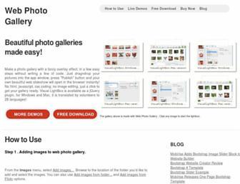 web-photo-gallery.com screenshot