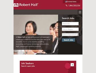 Thumbshot of Roberthalf.com
