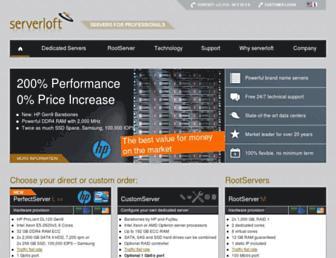 Thumbshot of Serverloft.com