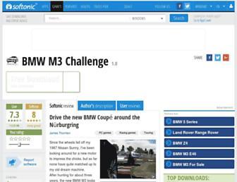 bmw-m3-challenge.en.softonic.com screenshot