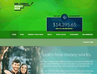 millennialmoneyman.com screenshot