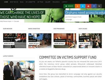 victimssupportfundng.org screenshot