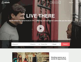 airbnb.com screenshot