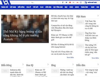 voatiengviet.com screenshot