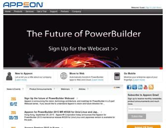 appeon.com screenshot