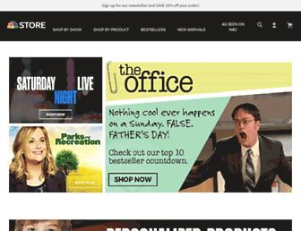 nbcstore.com screenshot