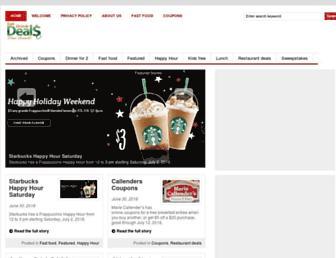 Thumbshot of Eatdrinkdeals.com