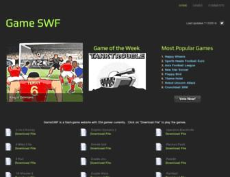 gameswf1.weebly.com screenshot