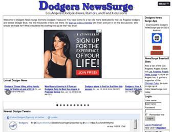 dodgers.newssurge.com screenshot