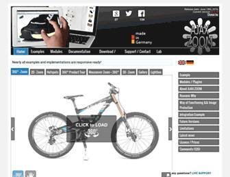 Thumbshot of Ajax-zoom.com