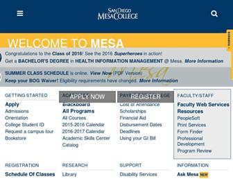 Thumbshot of Sdmesa.edu