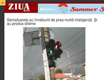 ziuadevest.ro screenshot