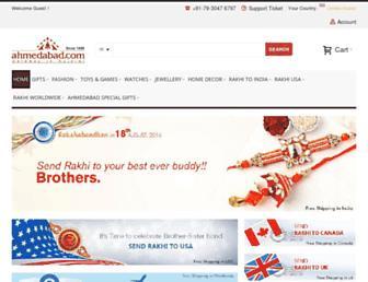 eshop.ahmedabad.com screenshot