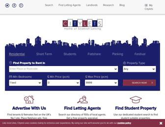 Thumbshot of Citylets.co.uk
