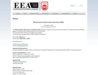 eea-journal.ro screenshot