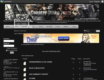 silent-warrior-group.forumarabia.com screenshot