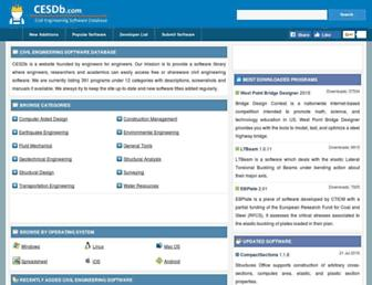 cesdb.com screenshot