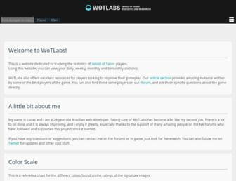 Thumbshot of Wotlabs.net