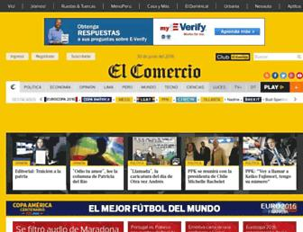 elcomercio.pe screenshot