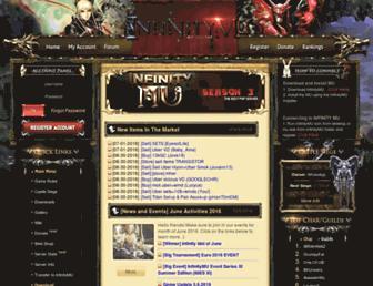 infinitymu.net screenshot
