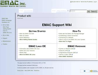 wiki.emacinc.com screenshot