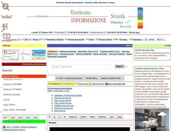 territorioscuola.com screenshot