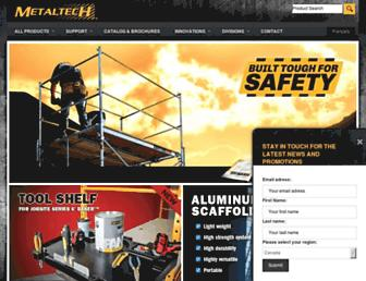 metaltech.co screenshot